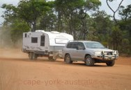 cape york bing a caravan