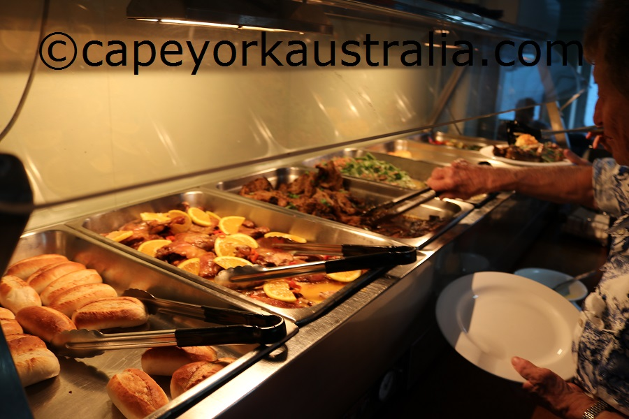 cape york cruise duck and lamb dinner