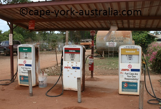 cape york fuel station