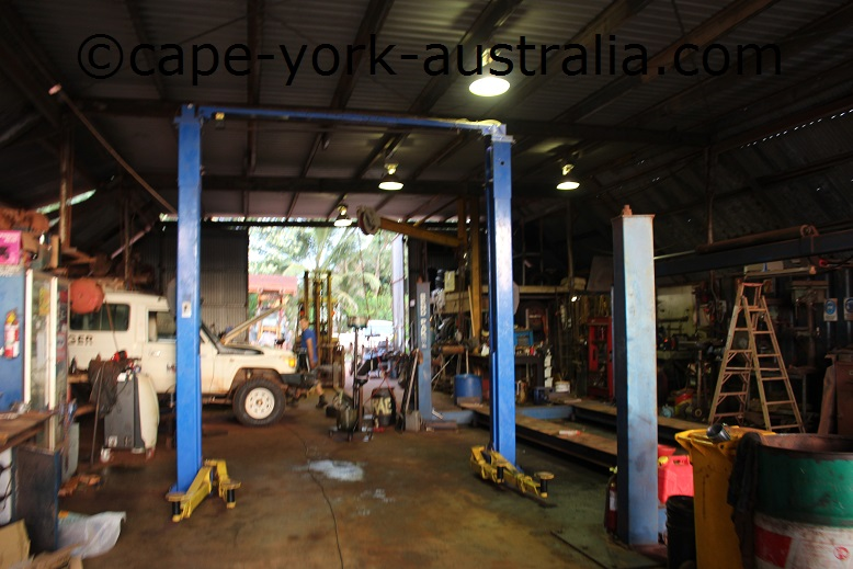 cape york mechanical workshop