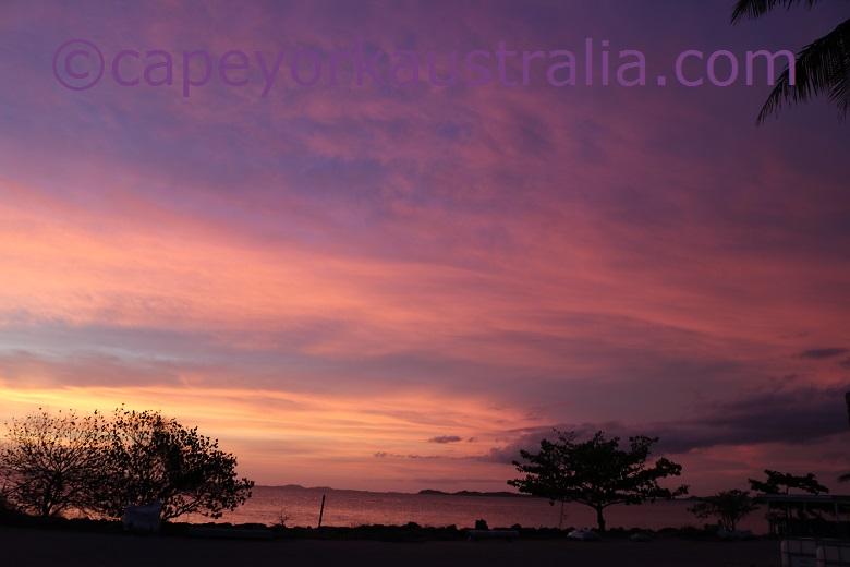 moa sunset