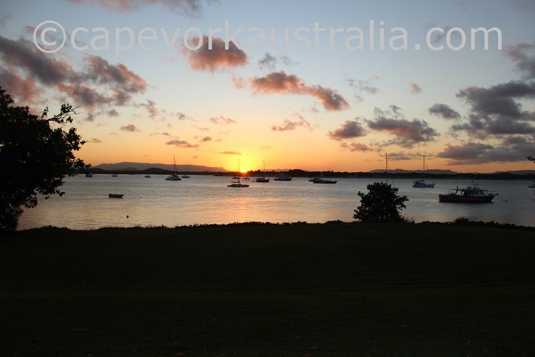 cooktown river sunset