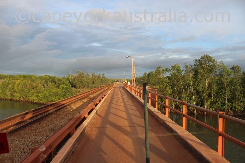 weipa andoom bridge