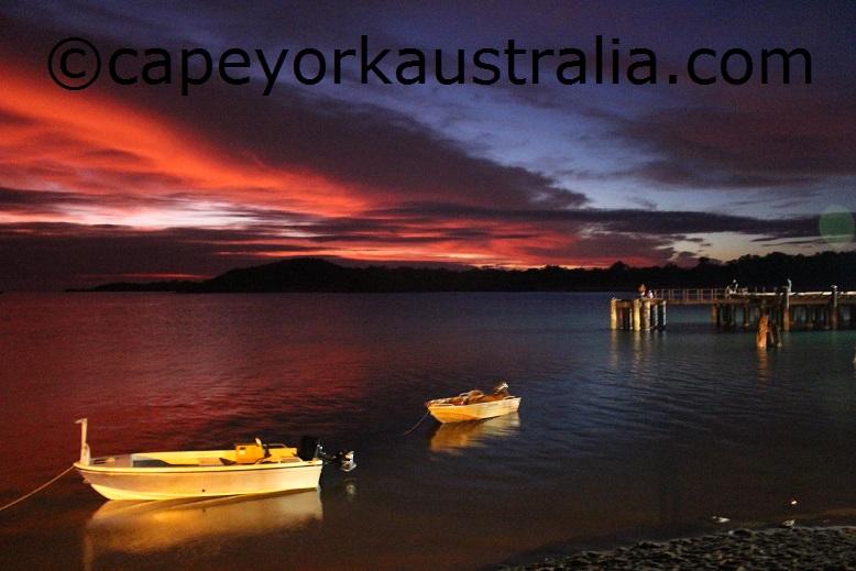 colourful seisia sunset