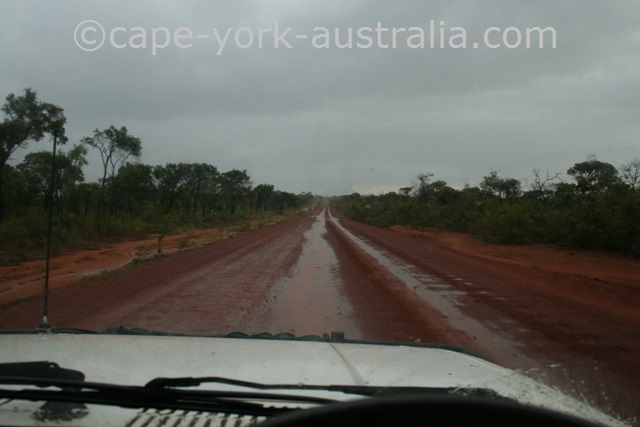 cape york road rainy