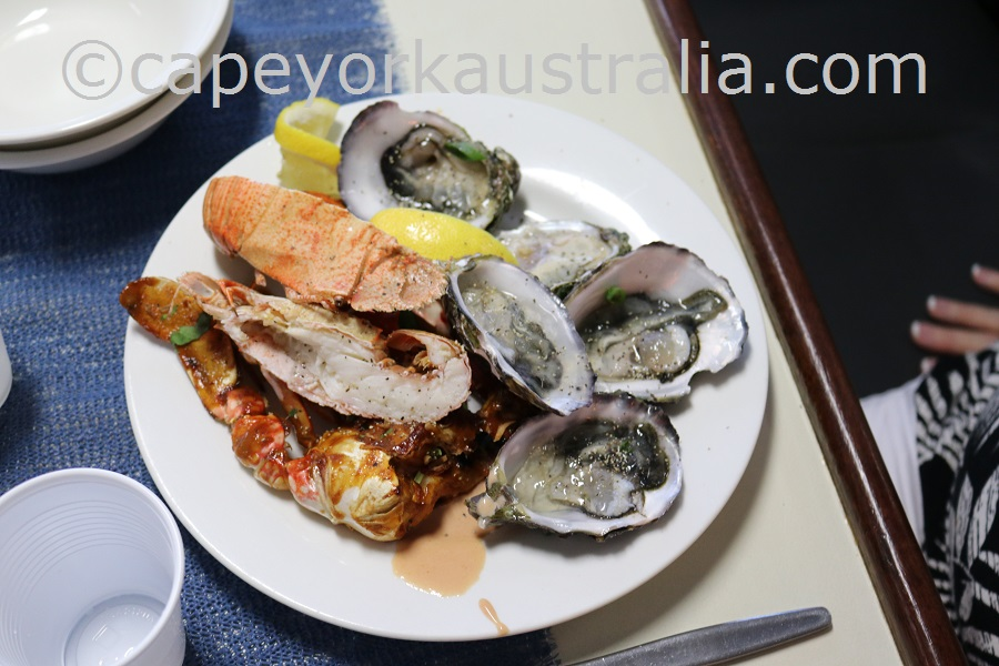 cape york seafood dinner