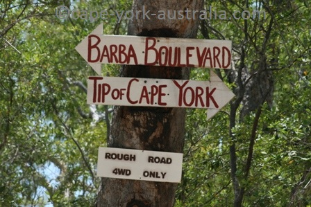 cape york sign