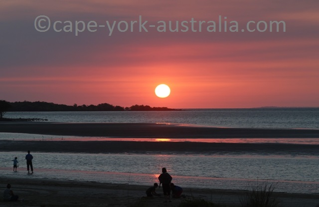 cape york sunset