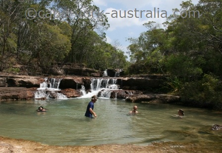 cape york waterfalls