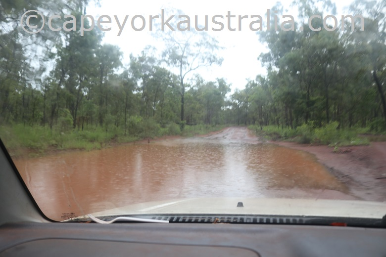 cape york wet season road 2021