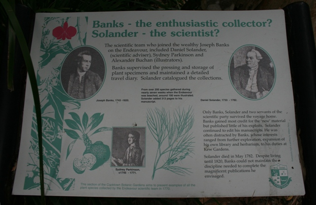 james cook botanists