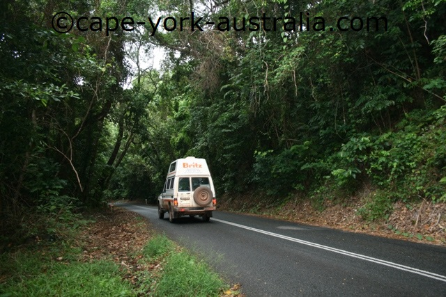 coastal road to cape york