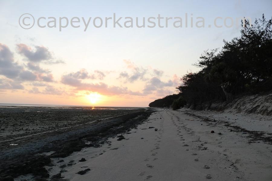 coconut island sunset