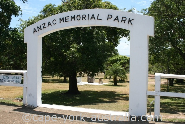 cooktown anzac park