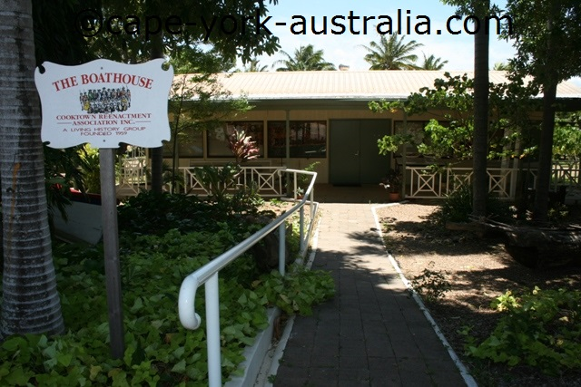 cooktown boat house