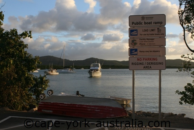 cooktown boat ramp