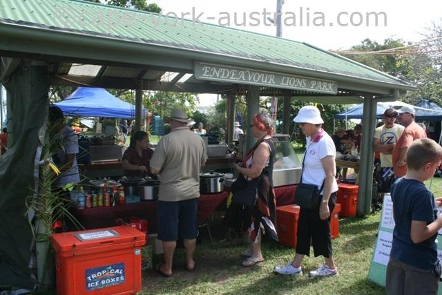 cooktown festival lions park