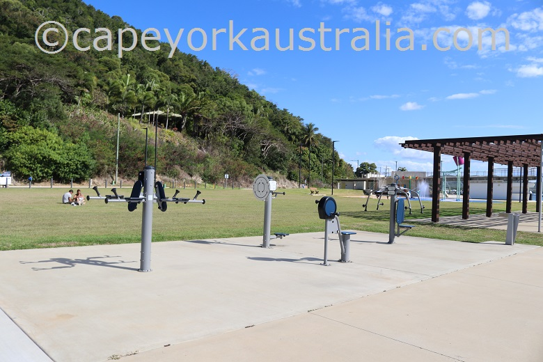 cooktown foreshore exercise machines