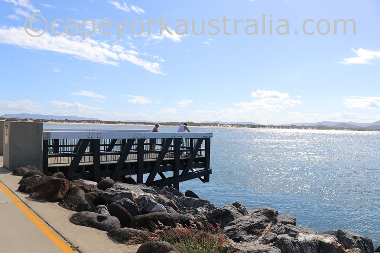 cooktown foreshore lookout point