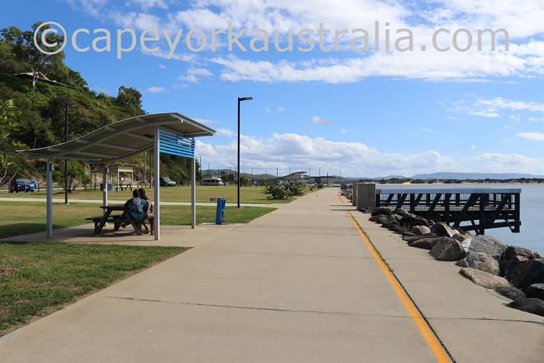 cooktown foreshore picnic shelter