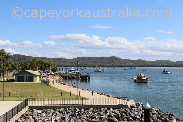 cooktown foreshore wharf