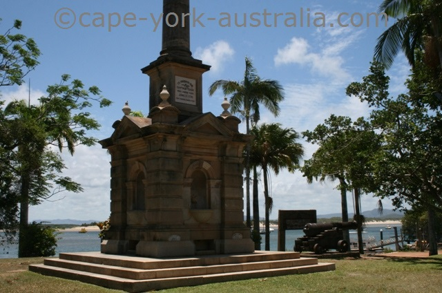 cooktown james cook monument