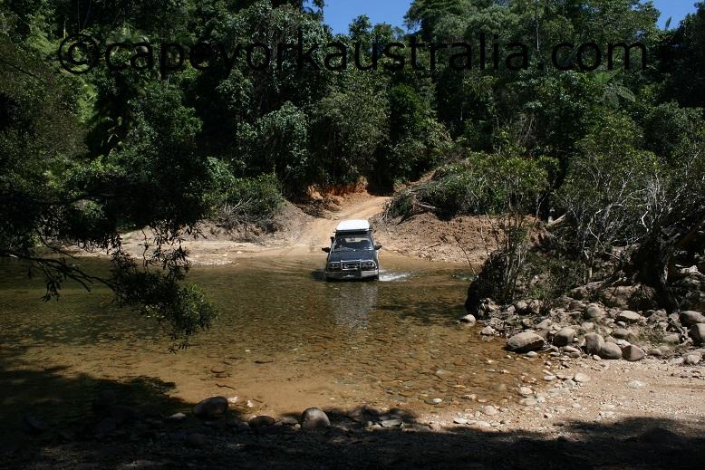 creb track creek crossing
