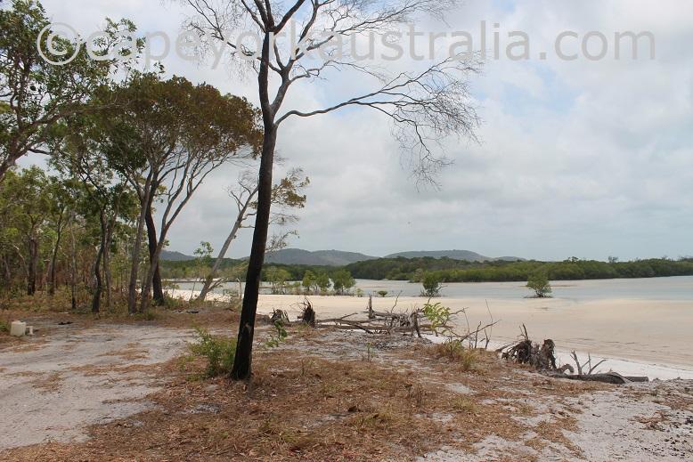 crocodile creek beach drive on the bank