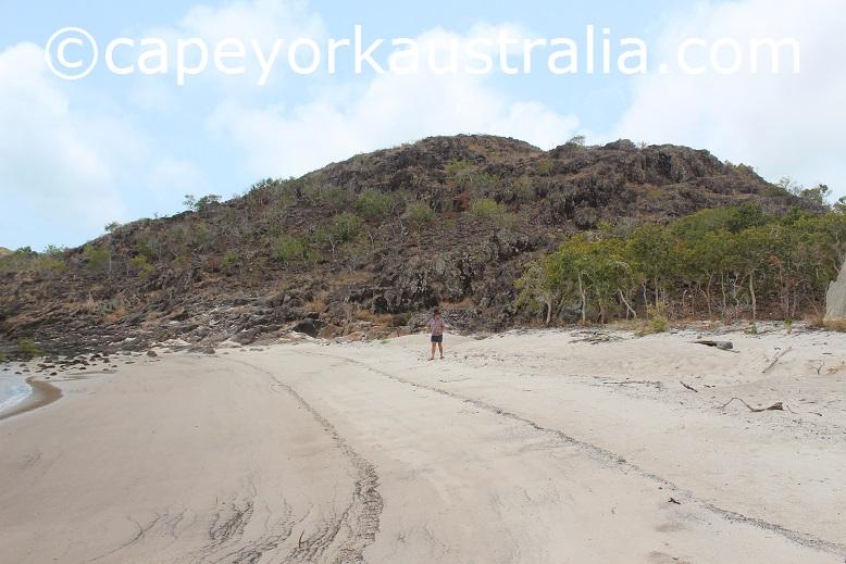 crocodile creek beach rocky