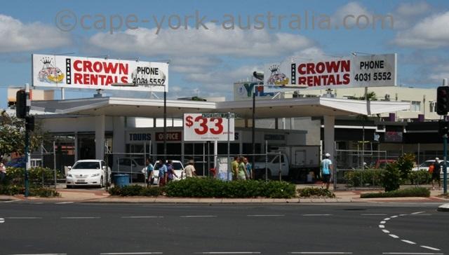crown rentals cairns