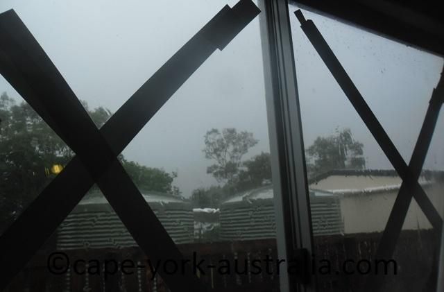 cyclone nathan windows taped