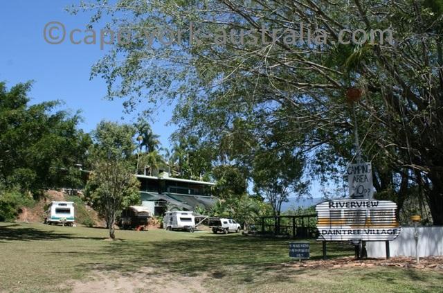 daintree village camping