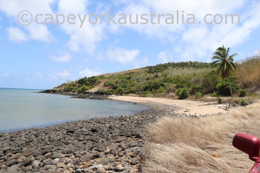 darnley island western beach