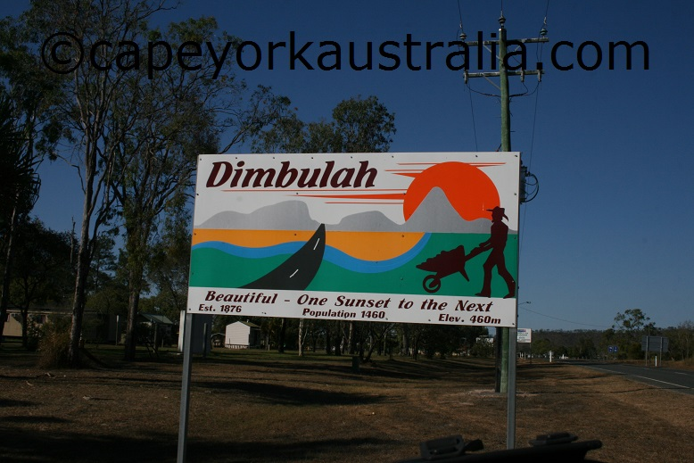 dimbulah sign
