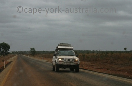 driving to cape york