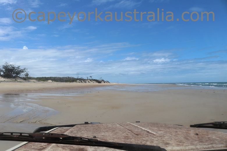 east coast drive cape york australia