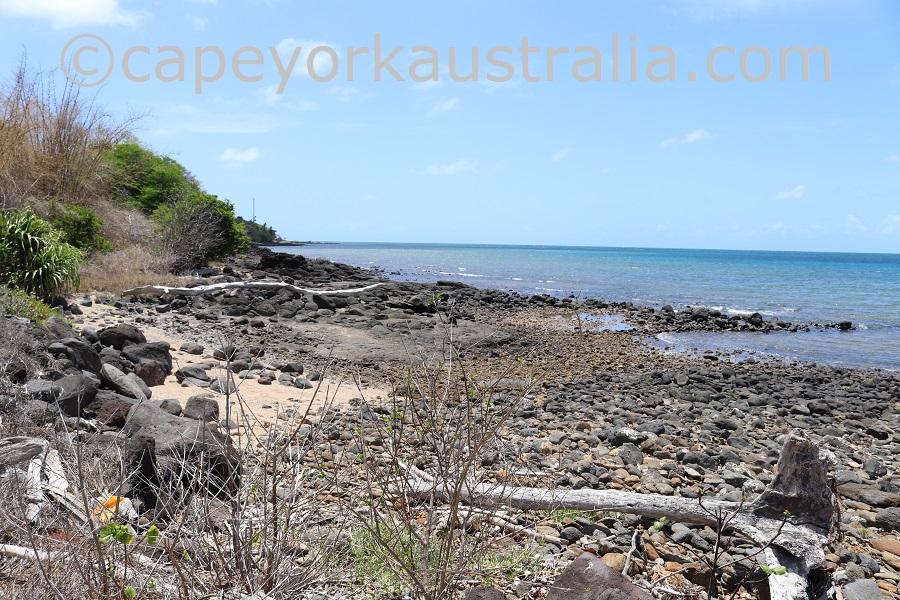 erub island west beach