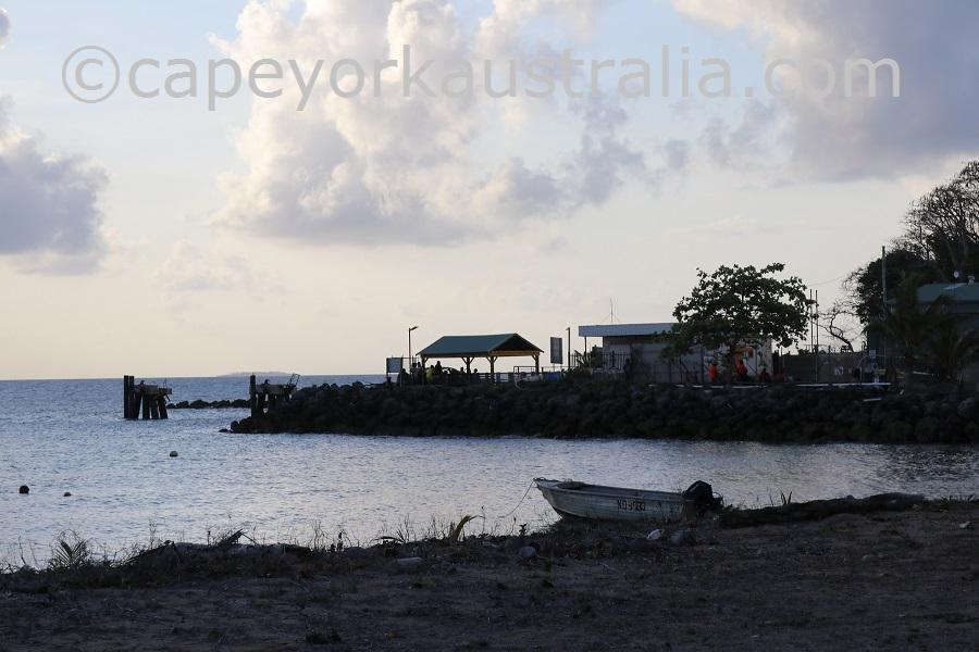erub island wharf