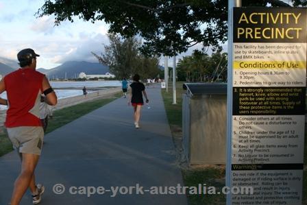 esplanade walking track