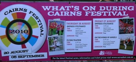 events cairns