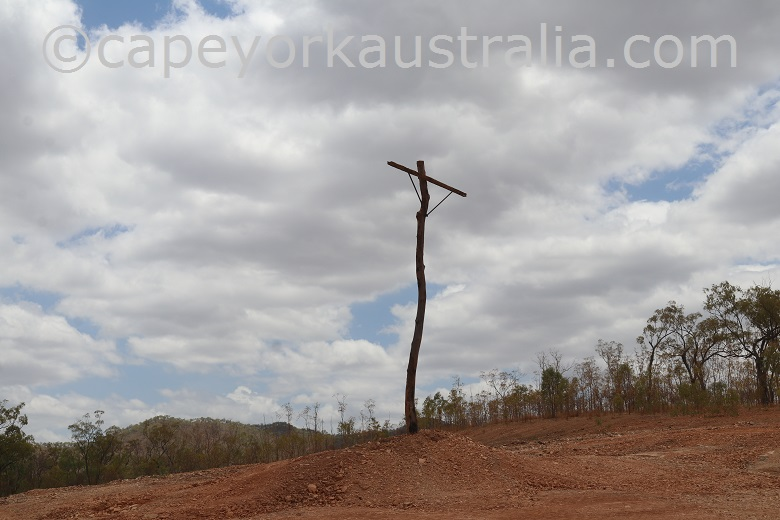 fairview to wrotham road telegraph line pole