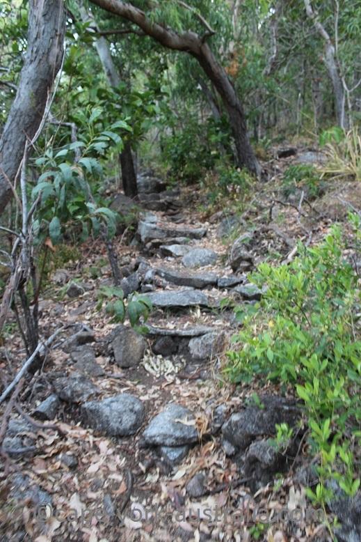 finch bay walk steps