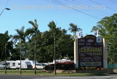 first city caravilla caravan park cairns