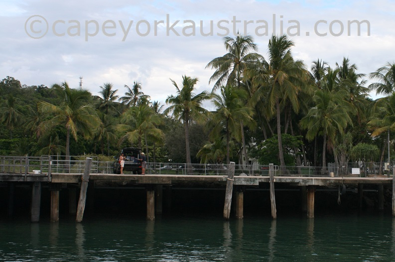 fishing port douglas wharf