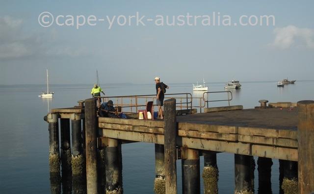 fishing seisia wharf