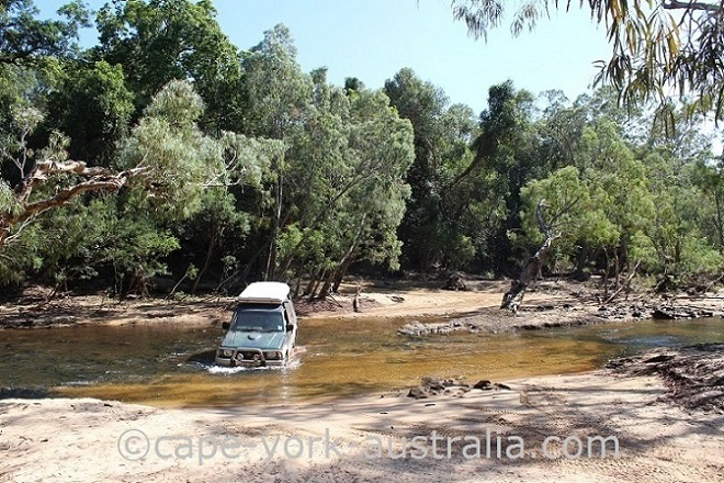frenchmans road wenlock river