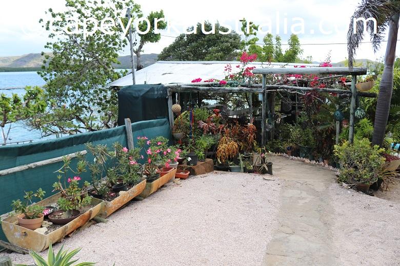 friday island flower garden