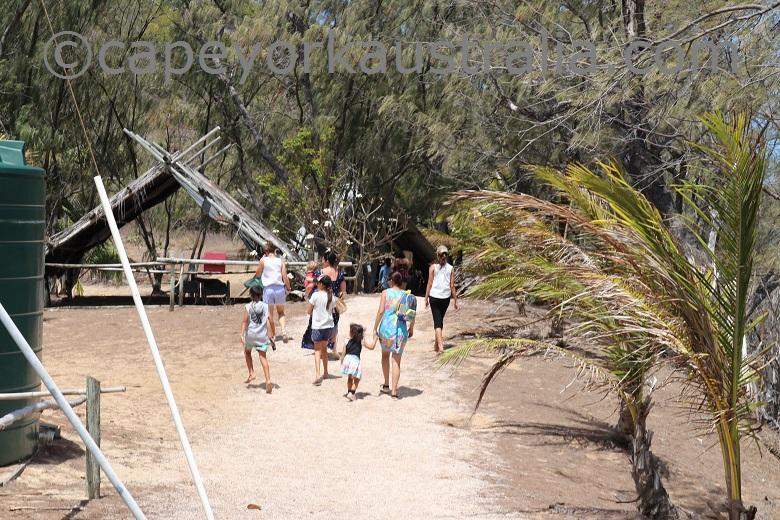 friday island hut