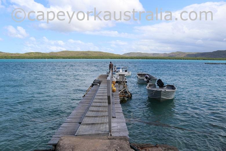 friday island jetty