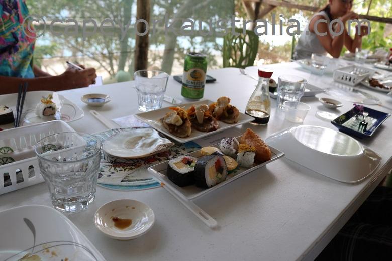 friday island lunch